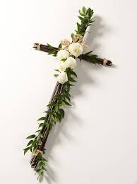 Funeral Wreath Cross